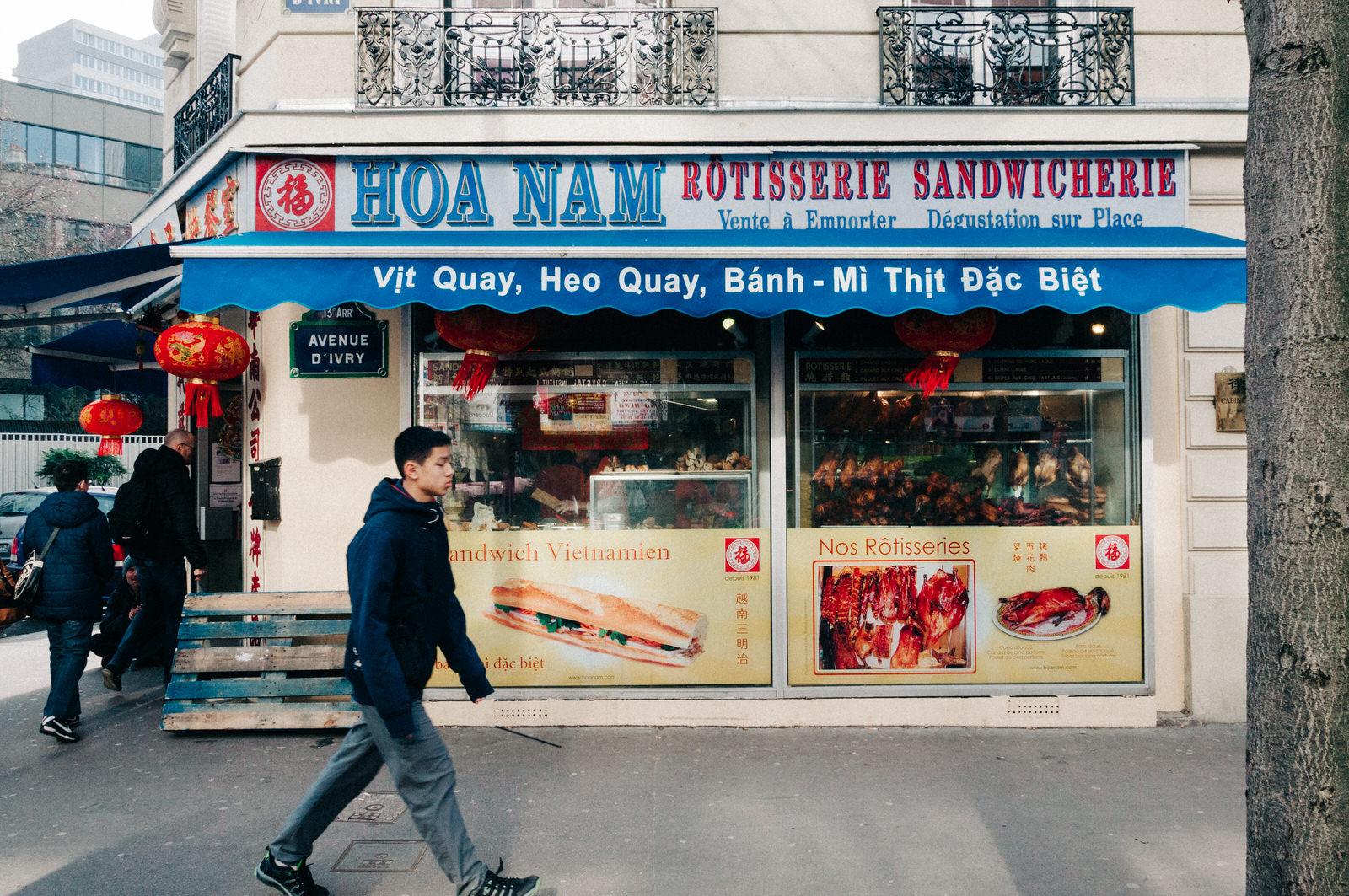 Resultado de imagem para quartier asiatique paris