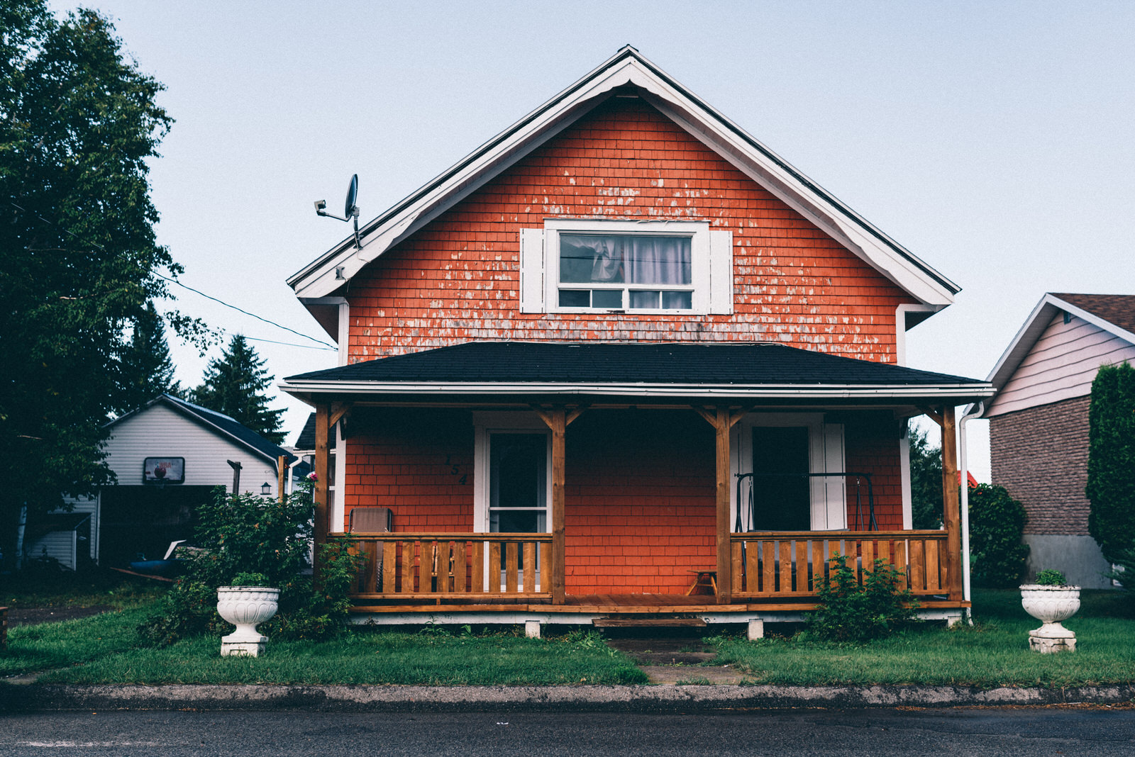 Maison en bois au canada maison moderne for Photo de maison au canada