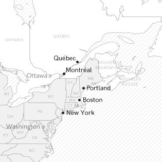 Se loger lors d'un road trip au Canada et aux USA