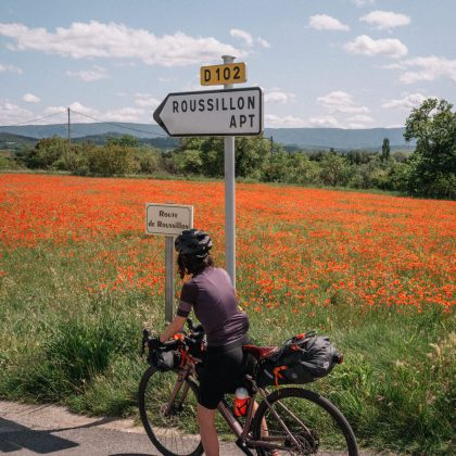 8 jours de bikepacking dans le Luberon - Black and Wood